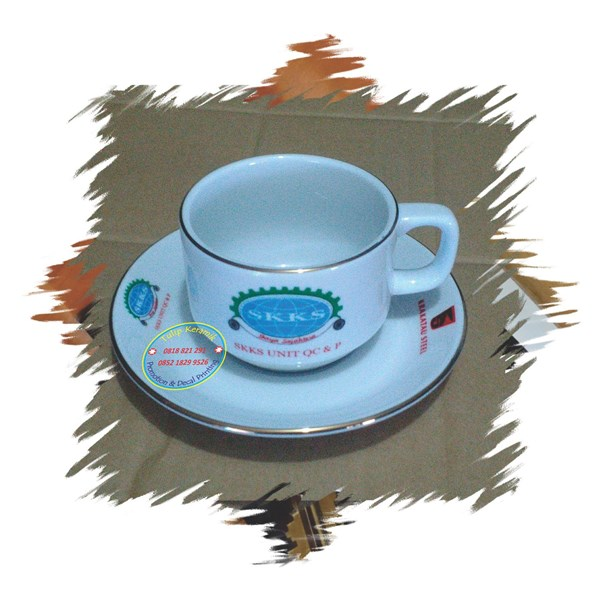 Souvenir cangkir keramik
