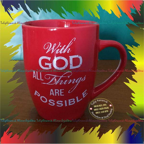 Mug Souvenir murah