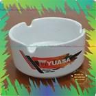 Asbak keramik logo 8