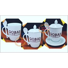 Spoons and Promotional Mugs