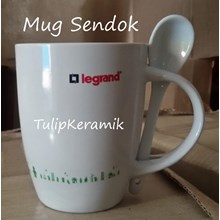 Mug Sendok dan Mug Promosi