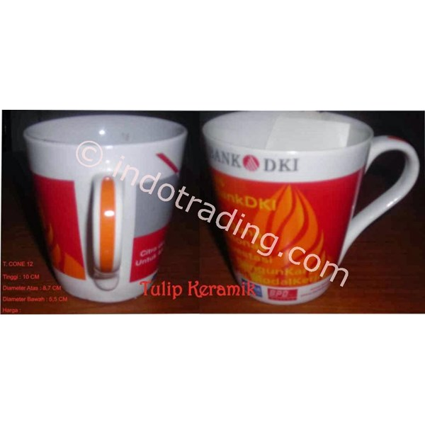 Cone Mug 12 Oz