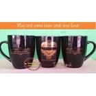 Black Ceramic Mug 13