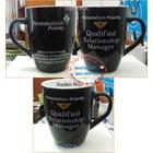 Black Ceramic Mug 12