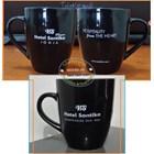 Black Ceramic Mug 11
