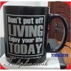 Black Ceramic Mug 5