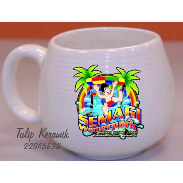 Mug Promosi Keramik Donat