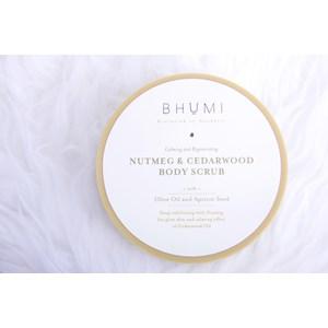 Bhumi Nutmeg & Cedarwood Body Scrub