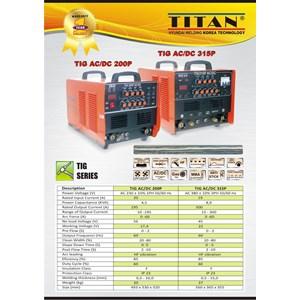 mesin las ACDC Series Titan