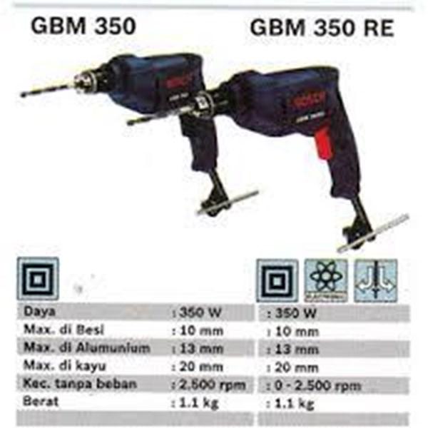 Mesin Bor GBM 350 BOSCH