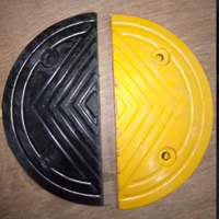 Rubber Endcap wheel stopper