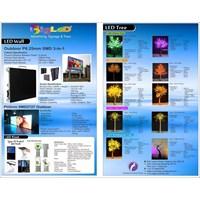 Jual Advertising Led Display Screen Outdoor Dan Indoor