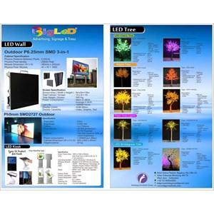 Advertising Led Display Screen Outdoor Dan Indoor