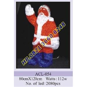 Lampu Hias Natal 3D Tipe ACL-054