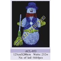 Lampu Hias Natal 3D Tipe ACL-053 1