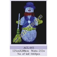 Lampu Hias Natal 3D Tipe ACL-053