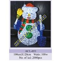 Lampu Hias Natal 3D Tipe ACL-051 1