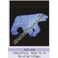 Lampu Hias Natal 3D Tipe ACL-048 1