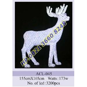 Lampu Hias Natal 3D Tipe ACL-045