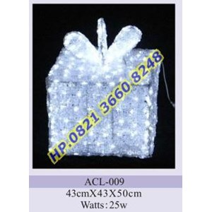 Lampu Hias Natal 3D Tipe ACL-009