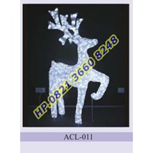 Lampu Hias Natal 3D Tipe ACL-011