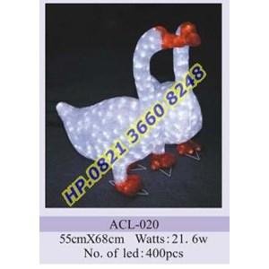 Lampu Hias Natal 3D Tipe ACL-020