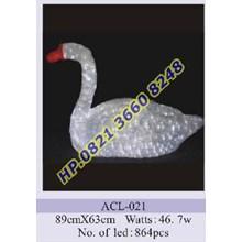 Lampu Hias Natal 3D Tipe ACL-021
