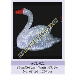 Lampu Hias Natal 3D Tipe ACL-022