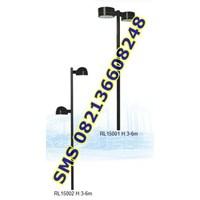 Tiang Lampu SPBU dan Area Parkir RL15001-15002