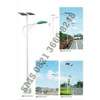 Tiang Lampu Jalan Tenaga Surya AA41201-41204