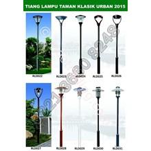Tiang Lampu Taman Klasik 2015