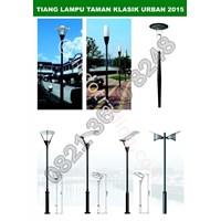 Lampu Taman Klasik Urban