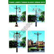 Tiang Lampu Taman Klasik Urban Harga Promo