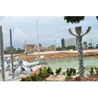Tiang Lampu Taman Tipe RLH 5 Murah 5