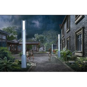 Tiang Lampu Taman Tipe RLH 20