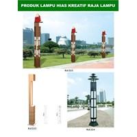 Tiang Lampu Taman Kreatif 3 1