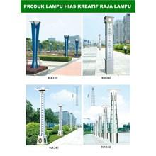 Tiang Lampu Taman Kreatif 10