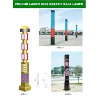 Tiang Lampu Taman Kreatif 14 1
