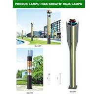 Tiang Lampu Taman Kreatif 19 1