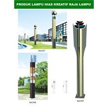 Tiang Lampu Taman Kreatif 19