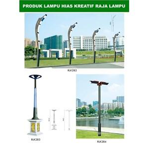 Tiang Lampu Taman Kreatif 24