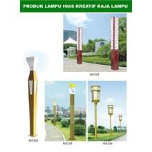 Tiang Lampu Taman Kreatif 27
