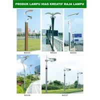 Tiang Lampu Taman Kreatif 31 1