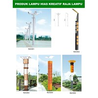 Tiang Lampu Taman Kreatif 36 1