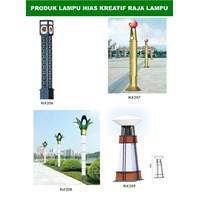 Tiang Lampu Taman Kreatif 37 1