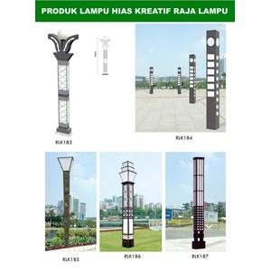 Tiang Lampu Taman Kreatif 41