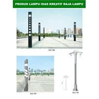 Tiang Lampu Taman Kreatif 42 1