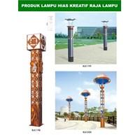 45 Creative Garden light poles 1
