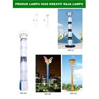 Tiang Lampu Taman Kreatif 46 1