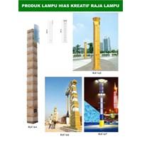 Tiang Lampu Taman Kreatif 47 1